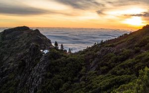 Madeira, above the clouds in one of European islands to move to and find the peace