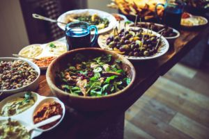 A lot of different dishes that will take part in your culture shock in Europe.