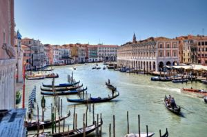 A picture of Venice.