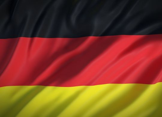 German flag, remember it well before moving to Germany.