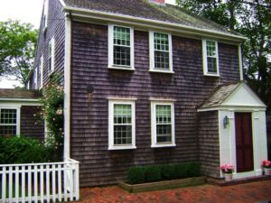 A house in Nantucket.