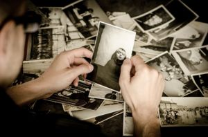 Moving for seniors is one of the reasons to take out all of their photos and memories.