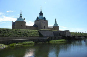 A view of the famous Kalmar Castle during the day - one of the best cities in Scandinavia