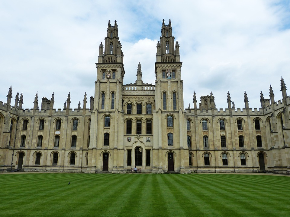 In moving for students list, The University of Oxford is a number one college for education