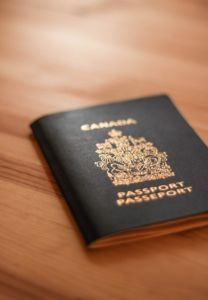 Moving to Budapest from Ontario will require a valid passport.