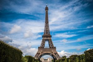 the Eiffel Tower - visiting it is one of the most popular vacation activities in Paris