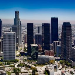 Los Angeles skyline - moving to LA
