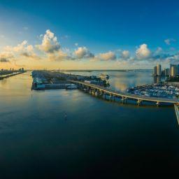 A Miami panorama.