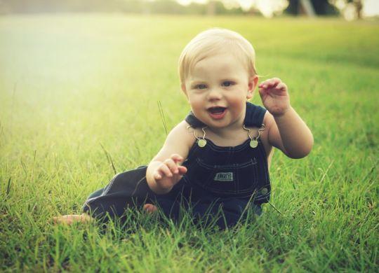 A toddler.