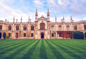 Cambridge University as one of the reasons for moving to Europe for University education.