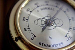 A hydrometer.