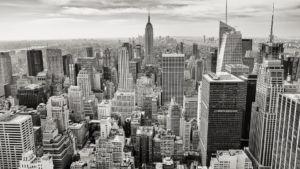 Manhattan city view.