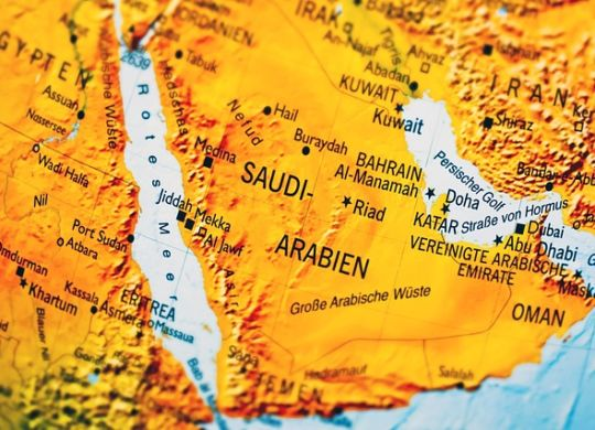 A map of Saudi Arabia you need to study in detail before expanding business to Saudi Arabia.