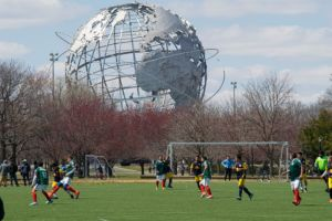 Landmark is the Unisphere - visit it after settling down in Queens