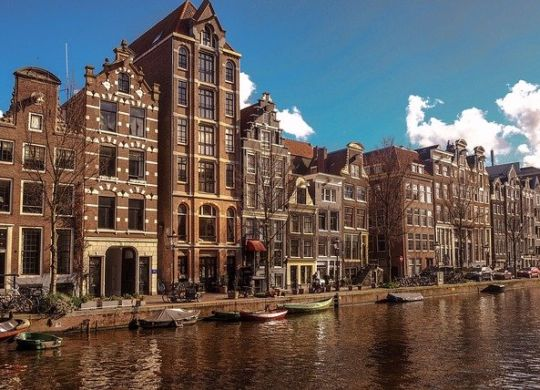 Homes in Amsterdam.