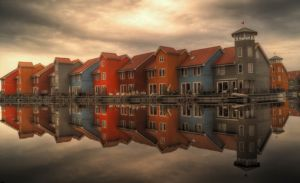 Homes in the Netherlands.