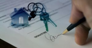 Signing and buying property in the Netherlands.