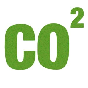 CO2 sign.