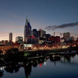 nashville skyline night