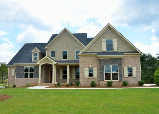 A family house.