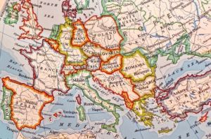 moving to europe map