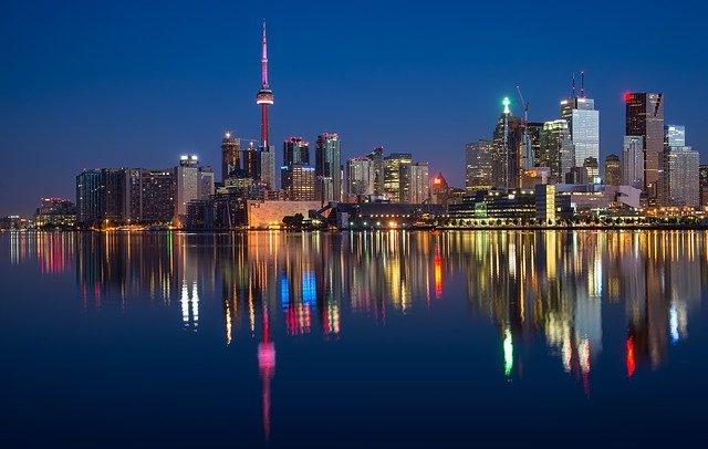 A view of Toronto.