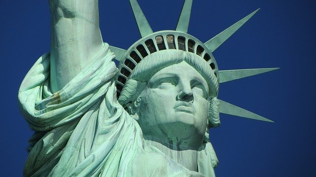 The Statue of Liberty; the process of settling down in NYC is not over until you have visited this great landmark.