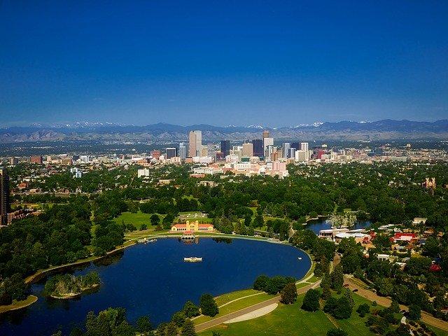A view of Denver