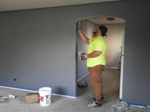 Doing home improvement projects to refresh your home.