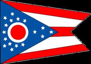Ohio flag.
