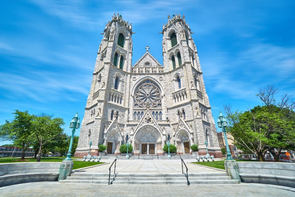 The photo of the Sacred Heart Cathedral, Newark, United States