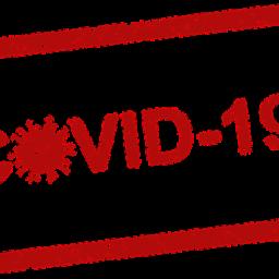 Covid 19 stamp.