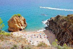 Spain beach.