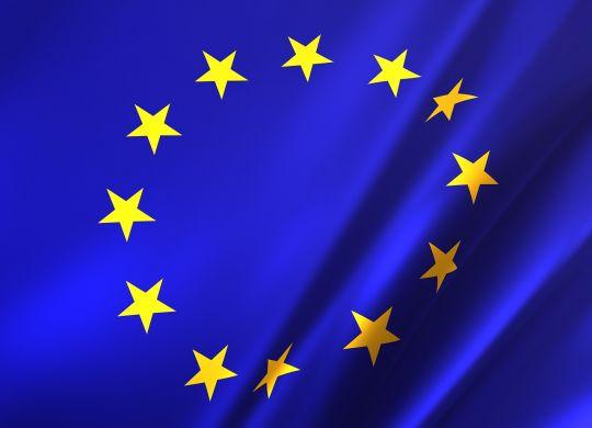 The EU flag,