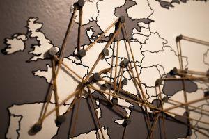 Europe, map.