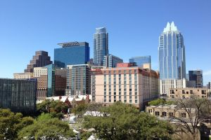 A view of Austin, one of the best Texas cities for international students.