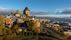 Quebec City is certainly one of the cities in Canada Europeans like best.