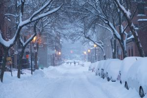 Montreal after a snowstorm in 2019.