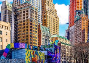 Colorful part of NYC.
