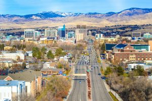 The view of Boise, one of the best Idaho cities for international companies.