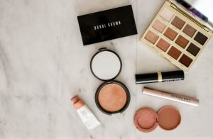 Assorted make up products